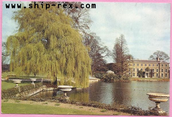 Kew Gardens - Pond and General Museum - postcard